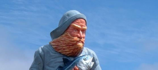 Fisherman Statue in Eastport, Maine: Focus of Restoration Efforts